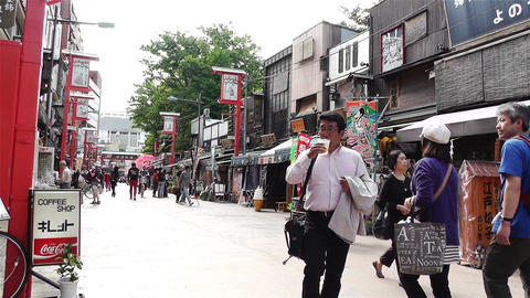 Tokyo Asakusa Japan 7 Stock Video Footage