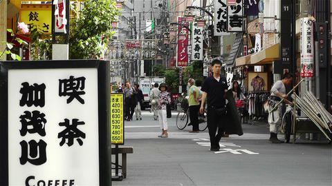 Tokyo Asakusa Japan 13 Stock Video Footage