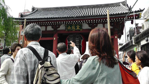 Tokyo Asakusa Japan 17 Stock Video Footage