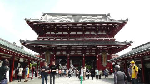Tokyo Asakusa Senso Ji Temple Japan 11 Footage