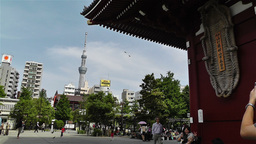 Tokyo Asakusa Senso Ji Temple Japan 17 Footage