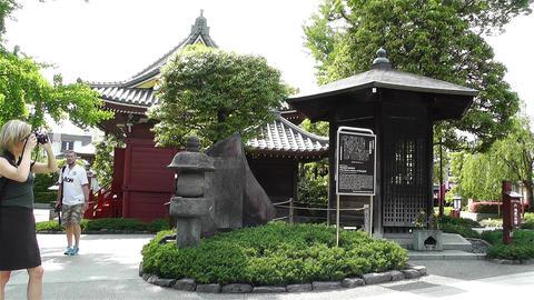 Tokyo Asakusa Senso Ji Temple Japan 22 Footage