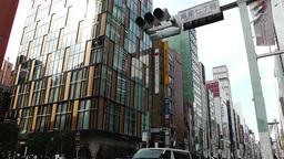 Tokyo Ginza Japan 3 Footage