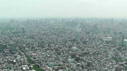 Tokyo Skytree Oshiage Aerial View to Tokyo 1 Footage