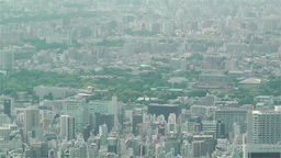 Tokyo Skytree Oshiage Aerial View to Tokyo 16 Stock Video Footage