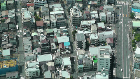Tokyo Skytree Oshiage Aerial View to Tokyo 20 Stock Video Footage