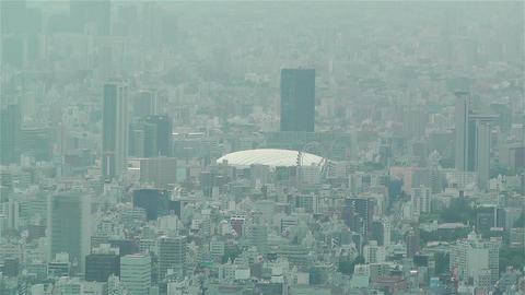Tokyo Skytree Oshiage Aerial View to Tokyo 41 tokyo dome Footage