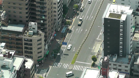 Tokyo Skytree Oshiage Aerial View to Tokyo 46 Stock Video Footage