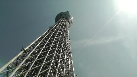 Tokyo Skytree Oshiage Japan 2 Stock Video Footage