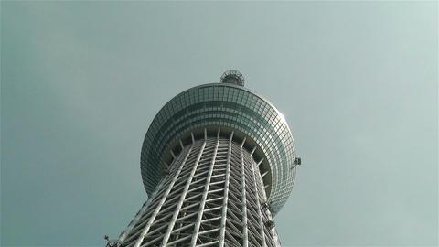 Tokyo Skytree Oshiage Japan 4 Stock Video Footage