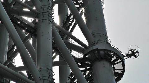 Tokyo Skytree Oshiage Japan 8 Stock Video Footage