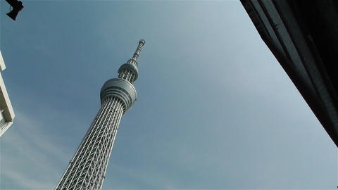 Tokyo Skytree Oshiage Japan 12 Stock Video Footage