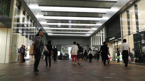 Tokyo Station Japan 3 Stock Video Footage
