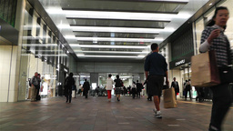 Tokyo Station Japan 3 Stock Video Footage