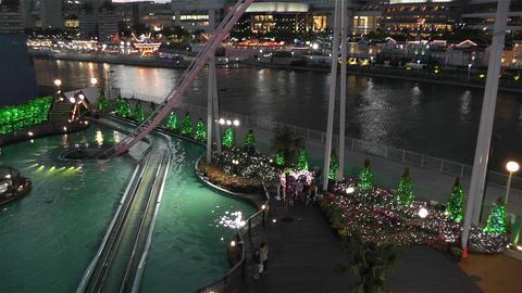 Yokohama Cosmoworld Japan 11 Footage