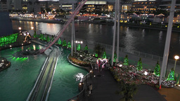 Yokohama Cosmoworld Japan 11 Stock Video Footage
