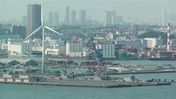 Yokohama Japan Aerial 20 Stock Video Footage