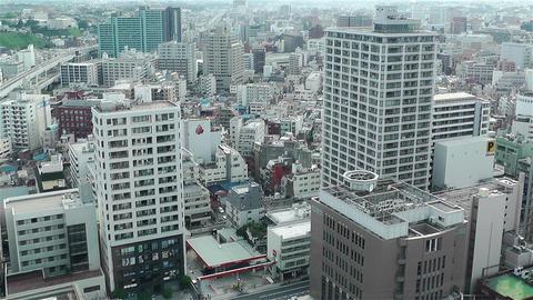 Yokohama Japan Aerial 26 Stock Video Footage