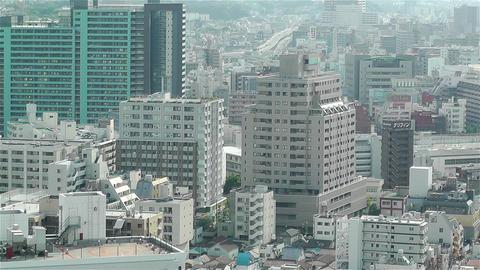 Yokohama Japan Aerial 36 Footage