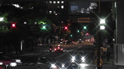 Yokohama Japan at Night 7 Footage