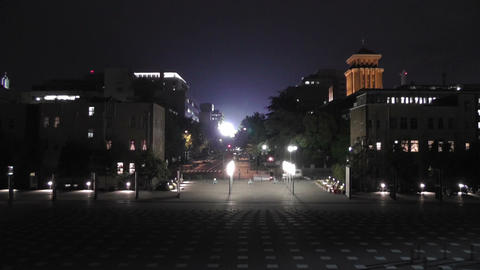 Yokohama Japan at Night 11 Stock Video Footage