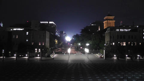 Yokohama Japan at Night 11 Footage