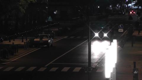 Yokohama Japan at Night 13 Stock Video Footage