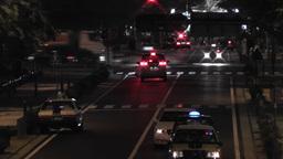 Yokohama Japan at Night 15 Stock Video Footage