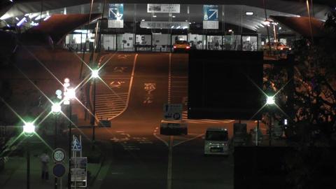Yokohama Japan at Night 18 Stock Video Footage