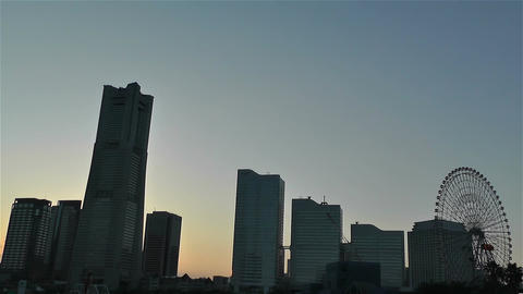 Yokohama Minato Mirai Japan 1 Footage