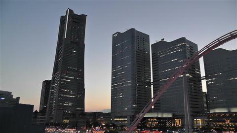 Yokohama Minato Mirai Japan 7 Footage