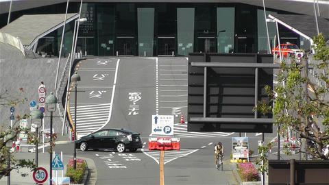 Yokohama Osinbashi Pier Port Japan 2 Stock Video Footage