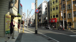 Yokohama Street Japan 1 Stock Video Footage