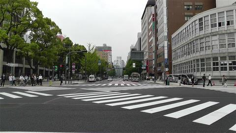 Yokohama Street Japan 3 Stock Video Footage