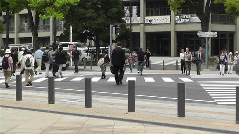 Yokohama Street Japan 5 Stock Video Footage