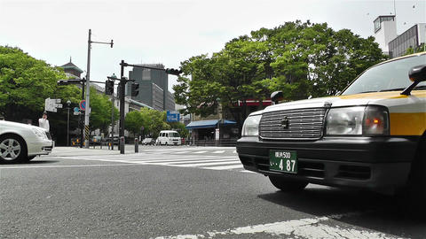 Yokohama Street Japan 7 Stock Video Footage