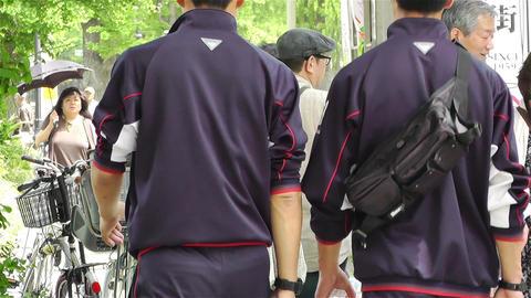 Yokohama Street Japan 11 Stock Video Footage