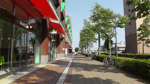 Yokohama World Porters Mall Japan Stock Video Footage