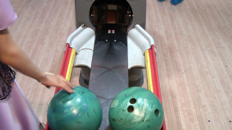 Bowling Stock Video Footage