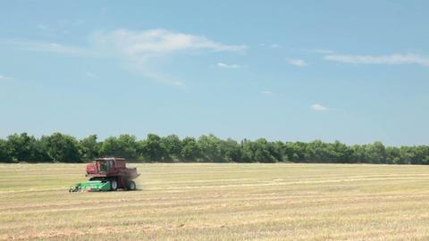 Combine-harvester Footage
