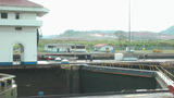 PANAMA CITY, PANAMA - MAY 5: Operation parts of the Panama Canal in Panama City, Panama on May 5, 20 Footage