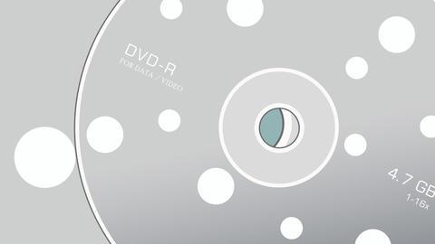 DVD Stock Video Footage