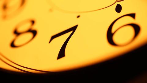 Clock Stock Video Footage