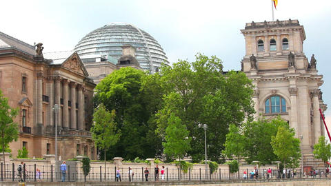 Reichstag Berlin, Germany Stock Video Footage