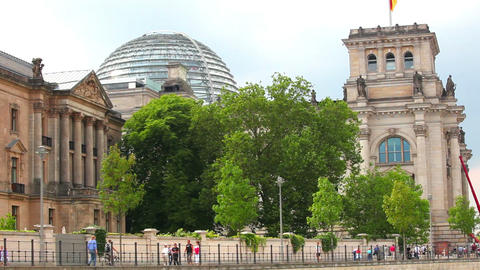 Reichstag Berlin, Germany Footage