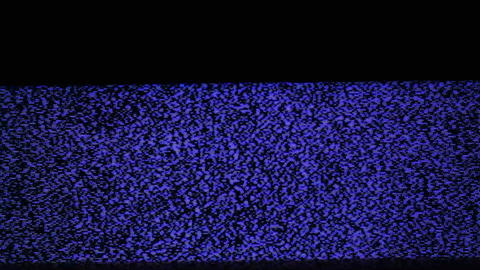 TV noise Stock Video Footage