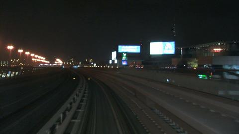 Metro at night Footage