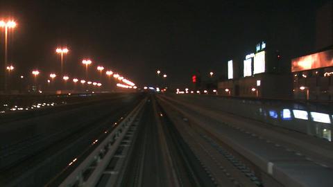 Metro time lapse Stock Video Footage