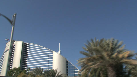 Jumeirah hotel Stock Video Footage