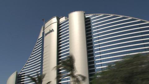 Jumeirah hotel Stock Video Footage